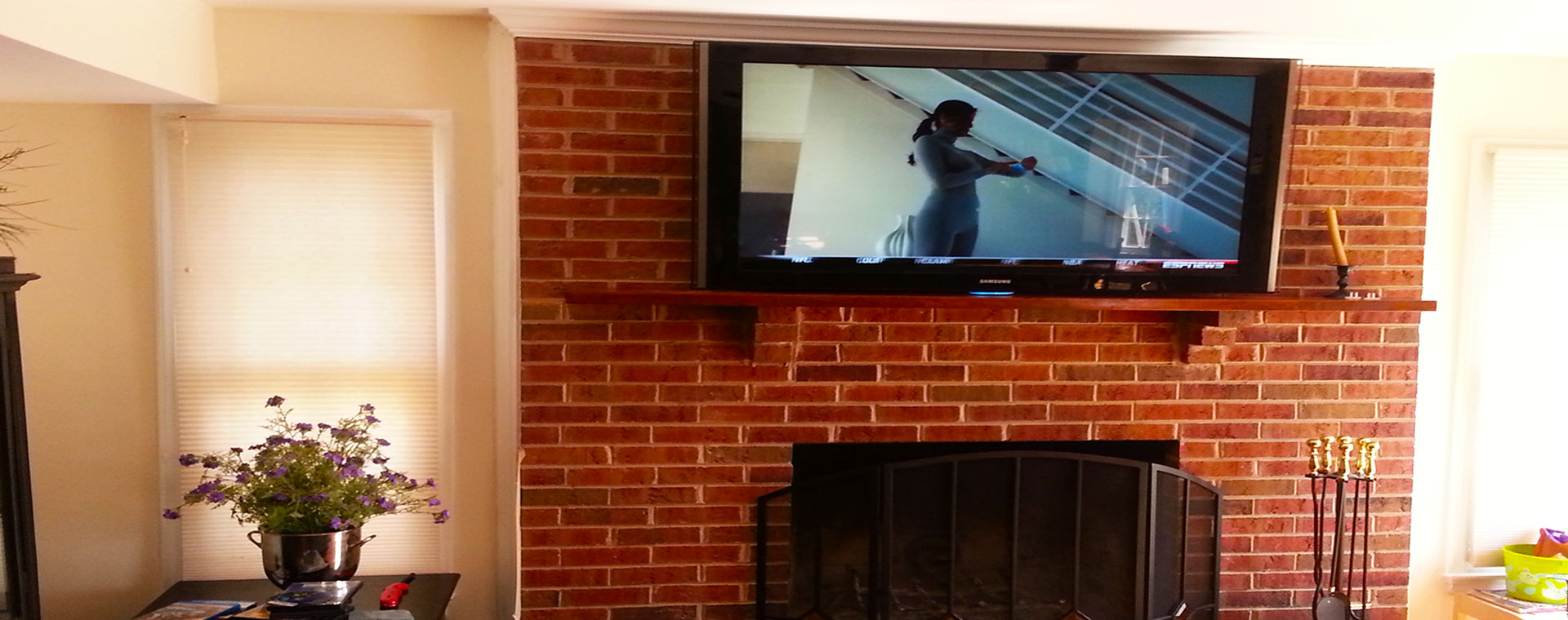 Installing Tv Above Fireplace American Hwy